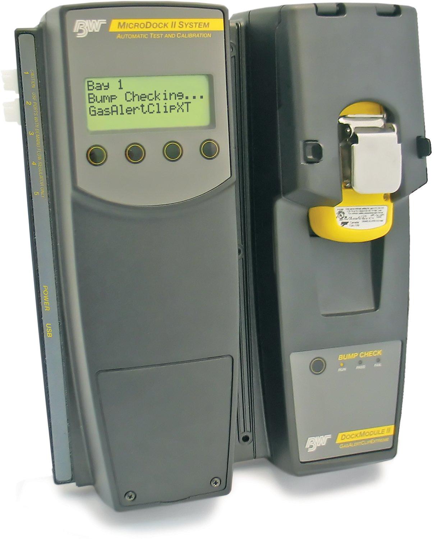 MicroDock II stacja do testowania i kalibracji detektorów gazów