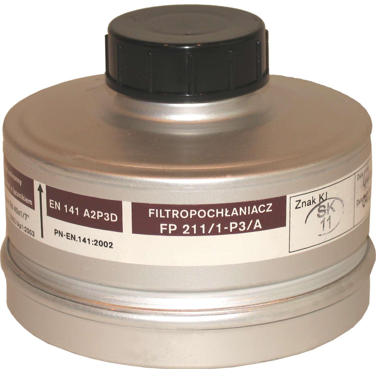 Filtropochłaniacz FP 211/1-P3/A