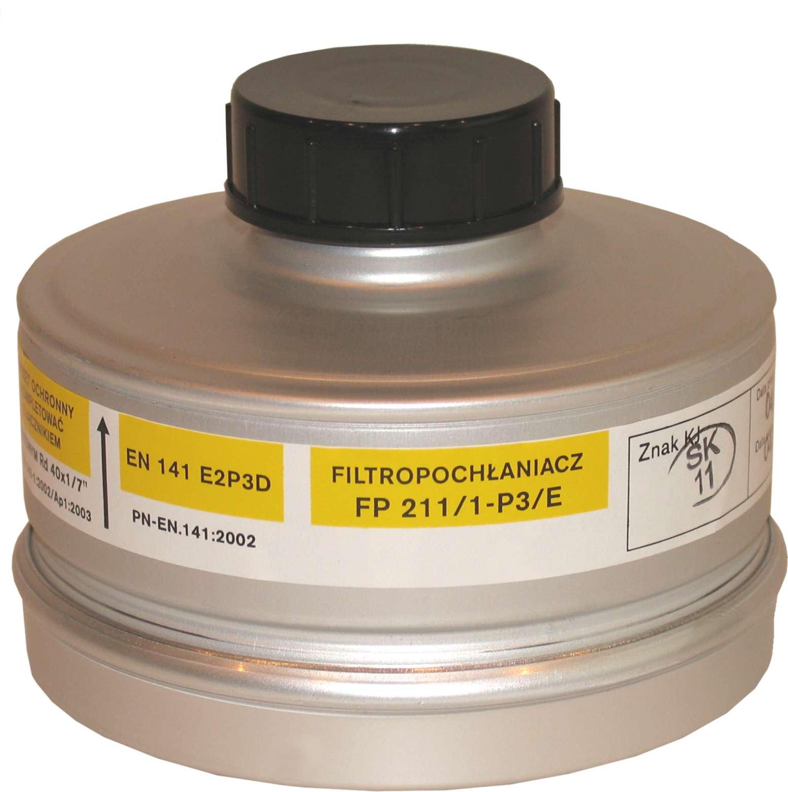 Filtropochłaniacz FP 211/1-P3/E