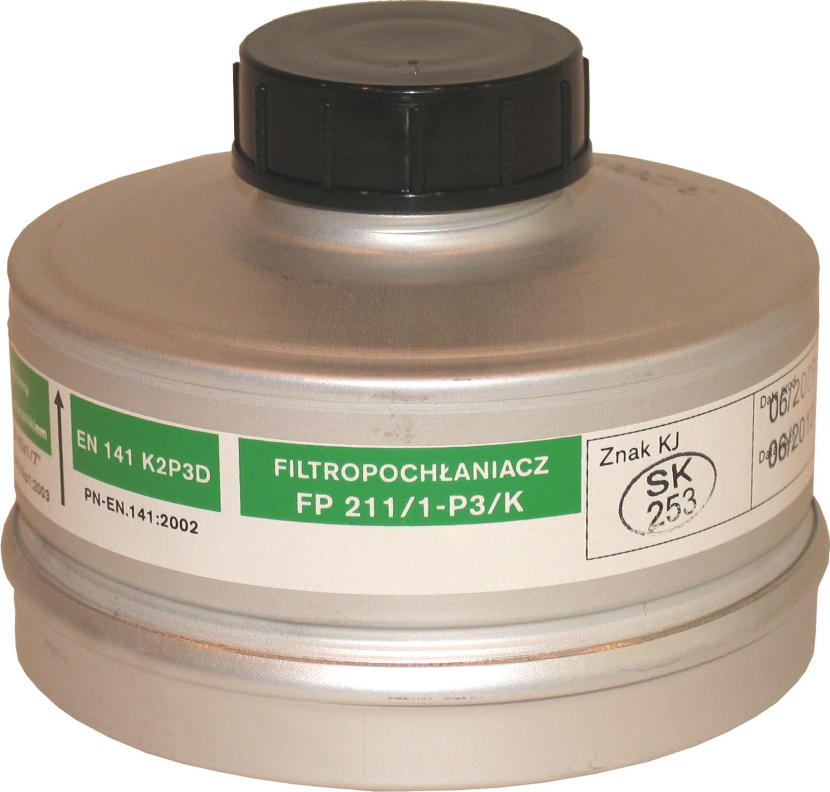 Filtropochłaniacz FP 211/1-P3/K