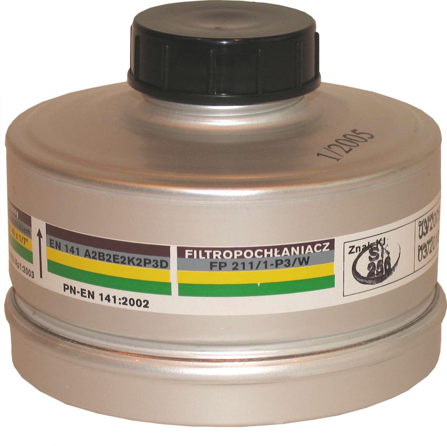 Filtropochłaniacz FP 211/1-P3/W