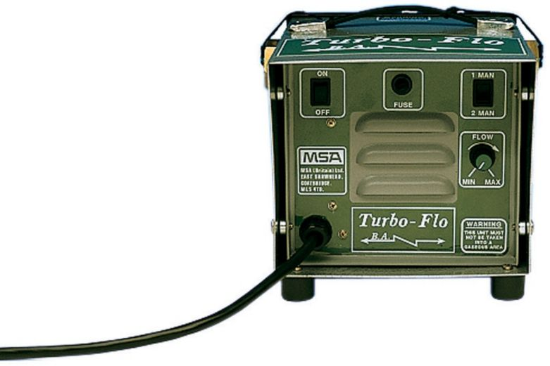 Aparat wężowy świeżego powietrza Turbo-Flo