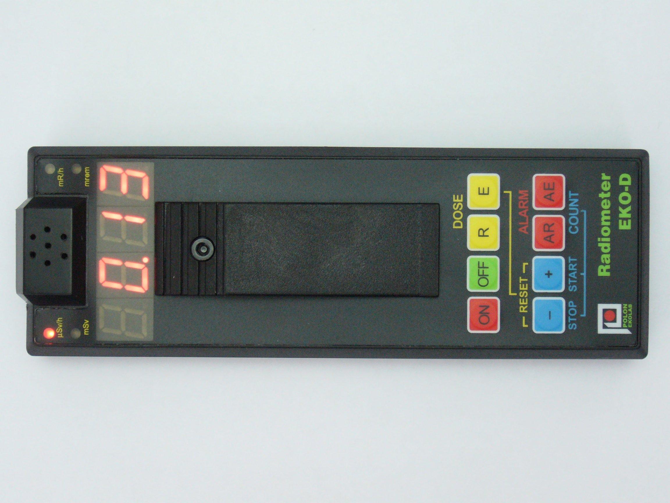 Radiometr cyfrowy skażeń EKO-D