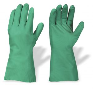 Rękawice ascö chemoodporne z nitrylu