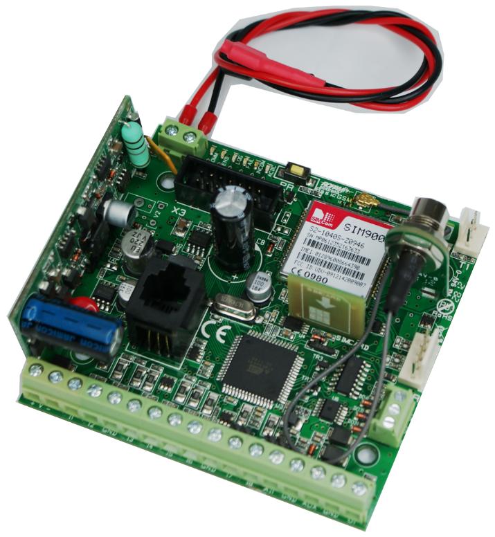 System powiadamiania GSM dla systemów detekcji gazów