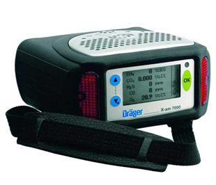 Detektor wielogazowy Dräger X-am® 7000