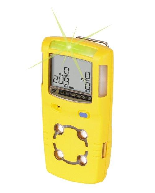 Detektor wielogazowy GasAlertMicroClip X3