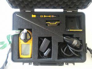 walizka GAM5 wnętrze
