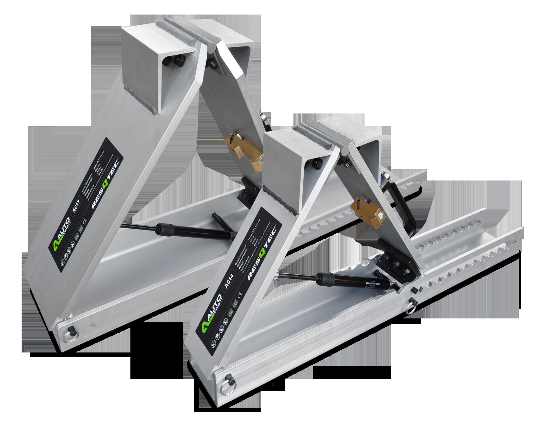 Automatyczne kliny stabilizacyjne Auto Crib-it RESQTEC