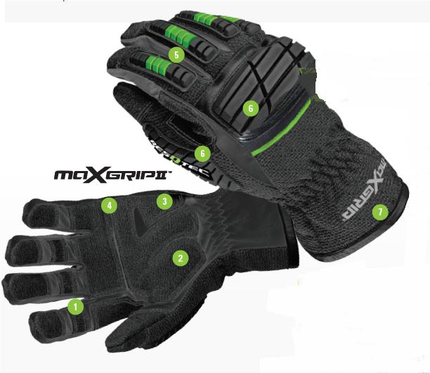 Rękawice MaxGrip II RESQTEC