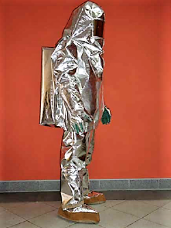Ubranie żaroodporne chroniące przed promieniowaniem cieplnym i płomieniem – Typ 3